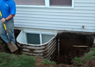 Egress window installation – South Bend, IN